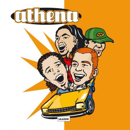 Athena - Holigan (Limited Edition - Transparent Orange Vinyl) - Plak