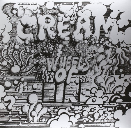Cream: Wheels Of Fire - Plak