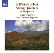 Enso String Quartet: Ginastera: String Quartets Nos. 1-3 - CD