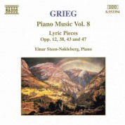 Grieg: Lyric Pieces, Books 1 - 4, Opp. 12, 38, 43 and 47 - CD