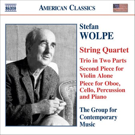 Wolpe: String Quartet / Second Piece for Violin Alone / Trio in 2 Parts / Oboe Quartet - CD