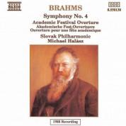 Brahms: Symphony No. 4 / Academic Festival Overture - CD