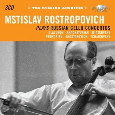 Mstislav Rostropovich: The Russian Archives: Rostropovich plays Russian Cello Concertos - CD