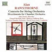 Rawsthorne: Concerto for String Orchestra / Divertimento / Elegiac Rhapsody - CD