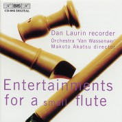 Dan Laurin: Entertainments for a Small Flavta - CD