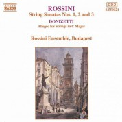 Rossini: String Sonatas / Donizetti : Allegro for Strings - CD