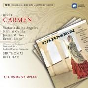 Victoria de los Angeles, Nicolai Gedda, Ernest Blanc, Orchestre de la Radiodiffusion Francaise, Thomas Beecham: Bizet: Carmen - CD