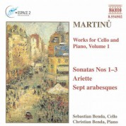 Martinu: Works for Cello and Piano, Vol.  1 - CD