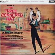 Orchestre de la Suisse Romande, Ernest Ansermet: de Falla: The three-cornered Hat - Plak