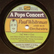 Whiteman, Paul: A Pops Concert (1927-1929) - CD
