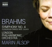 Marin Alsop: Brahms: Symphony No. 4 / Hungarian Dances Nos. 2, 4-9 - CD