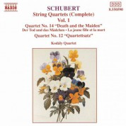 Schubert: String Quartets (Complete), Vol. 1 - CD