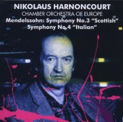 Chamber Orchestra of Europe, Nikolaus Harnoncourt: Mendelssohn: Symphony No 3