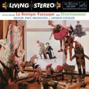 Arthur Fiedler, Boston Symphony Orchestra: Rossini-Respighi, Ibert: La Boutique Fantasque, Divertissement - Plak