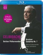 Berliner Philharmoniker, Sergiu Celibidache: Bruckner: Symphony No. 7 - BluRay