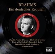 Rudolf Kempe: Brahms, J.: Deutsches Requiem (Ein) (Fischer-Dieskau, Grummer, Kempe) (1955) - CD