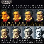 Noriko Ogawa: Beethoven - Symphony No.9 (arranged by Richard Wagner) - CD