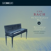 Miklós Spányi: C.P.E. Bach: Solo Keyboard Music, Vol. 16 - CD