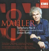 Sir Simon Rattle: Mahler - Symphony No.8 - CD
