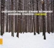 Sonia Wieder-Atherton, Laurent Cabasso: L'ame Russe: Mussorgski, Tchaikovski, Rachmaninov, Prokofiev - CD