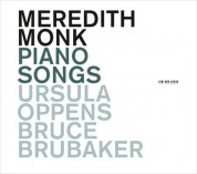 Meredith Monk: Piano Songs - CD