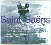 Charles Dutoit: Saint-Saens: Concertos for Violin, Piano, Cello - CD