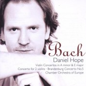 Daniel Hope, Chamber Orchestra of Europe: J.S. Bach: Violin Concertos - CD