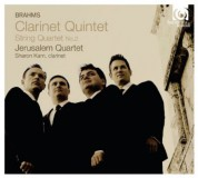 Jerusalem Quartet: Brahms: Clarinet Quintet - CD