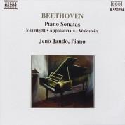 Jenö Jandó: Beethoven: Piano Sonata 14, 21, 23 - CD