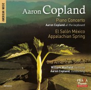 Aaron Copland, William Warfield: Piano Concerto, El Salón México, Appalachian Spring, Old American Songs - SACD
