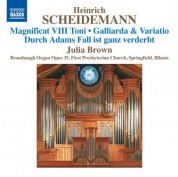 Julia Brown: Scheidemann: Organ Works, Vol. 6 - CD