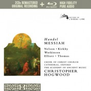 Emma Kirkby, Judith Nelson, Academy of Ancient Music, Christopher Hogwood: Handel: Messiah - CD