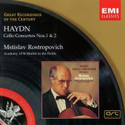 Mstislav Rostropovich, Academy of St. Martin in the Fields, Iona Brown: Haydn: Cello Concertos 1 & 2 - CD