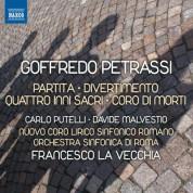 Francesco La Vecchia: Petrassi: Partita - Divertimento - 4 inni sacri - Coro di morti - CD