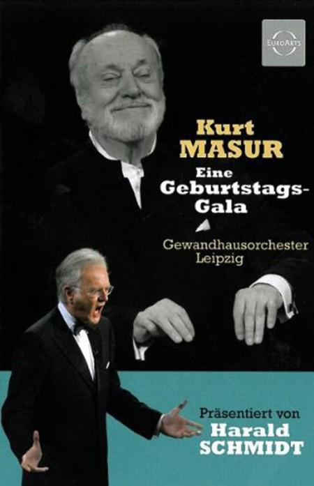 Gewandhausorchester Leipzig, MDR Radio Choir, Kurt Masur: Kurt Masur: Eine Geburtstagsgala presented by Harald Schmidt - DVD