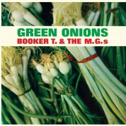 Booker T. & M.G.S: Green Onions - Limited Edition in Transparent Green Colored Vinyl. - Plak
