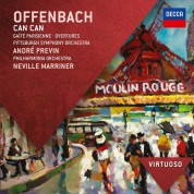 André Previn, Sir Neville Marriner, Philharmonia Orchestra, Pittsburgh Symphony Orchestra: Offenbach: Can Can - CD