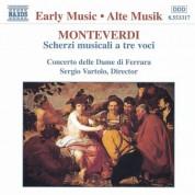Monteverdi: Scherzi Musicali A Tre Voci - CD