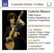 Gabriel Bianco: Guitar Recital: Bianco, Gabriel - Mertz, J.K. / Bach, J.S / Koshkin, N. - CD