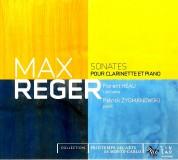Florent Heau, Patrick Zygmanow: Reger: Clarinet Sonatas Op.49 No.1, 2 - CD