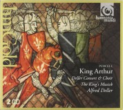 Deller Consort, The King's Musick, Alfred Deller: Purcell: King Arthur (complete) - CD