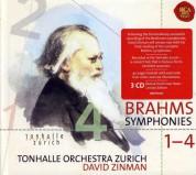 David Zinman, Tonhalle Orchester Zurich: Brahms: Symphony 1-4 - CD