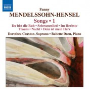 Dorothea Craxton: Mendelssohn-Hensel, F.: Songs, Vol. 1 - CD