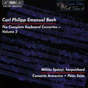 Miklós Spányi, Concerto Armonico, Péter Szűts: C.P.E. Bach: Keyboard Concertos, Vol. 3 - CD