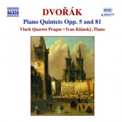 Dvorak: Piano Quintets Opp. 5 and 81 - CD