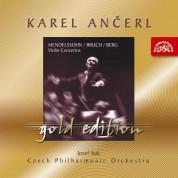 Josef Suk, Karel Ancerl: Mendelssohn/Bruch/Berg: Violin Concertos - CD