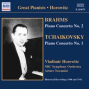 Vladimir Horowitz: Brahms / Tchaikovsky: Piano Concertos (Horowitz) (1940-1941) - CD