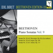 İdil Biret: Beethoven: Piano Sonatas, Vol. 9 - CD