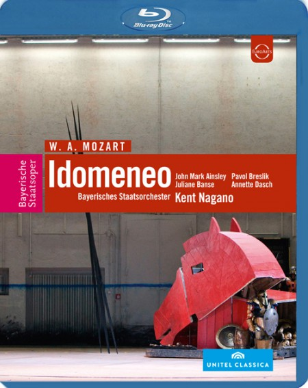 Bayerisches Staatsorchester, Kent Nagano: Mozart: Idomeneo - BluRay