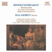 Rimsky-Korsakov: Scheherazade / Balakirev: Russia - CD